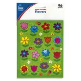 Carson-Dellosa, Flower Shape Stickers, Multi-Colored, Pack of 96