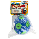 Talicor, All About You Thumball, Blue and Green, 4 inches