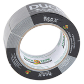 ShurTech Brands, Duck, Max Strength Duck Tape, Black, 1.88 Inches x 20 Yards