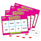 Trend, Sight Words Level 2 Bingo Game, 5 Years and Older, 3 to 36 Players