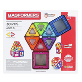 Magformers, Magnetic 3D Building Set, 30 Pieces, Ages 3 and Older