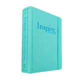 NLT Inspire Journaling Bible, Hardcover, Aquamarine