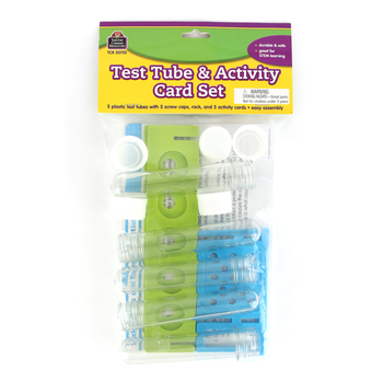 Teacher Created Resources, Test Tube & Activity Kit, 15 Pieces