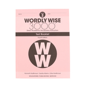 Wordly Wise 3000 4th Edition Test Booklet 2, Paperback, Grade 2