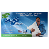 MyPillow, Classic Firm Pillow, King, 18 1/2 x 34 Inches