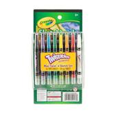Crayola Twistables Crayons Mini Twist 'n Sketch, Set of 16