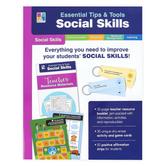 Carson-Dellosa, Essential Tips and Tools Social Skills Classroom Kit, Special Needs, 81 Pieces, Grades PreK-8