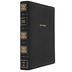 NKJV Wide Margin Large Print Reference Bible, Imitation Leather, Black