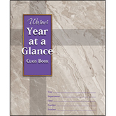 Warner Press, Year-at-a-Glance Class Book, 8 1/2 x 7 inches, 8 Pages