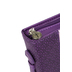 Christian Art, Blessed Bible Cover, Leather-like, Purple, Large
