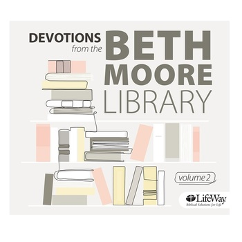 Devotions from the Beth Moore Library: Volume 2, by Beth Moore, 2 CD Audiobook