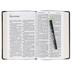 KJV Large Print Personal Size Reference Bible, Imitation Leather, Black & Brown