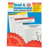 Evan-Moor, Read & Understand with Leveled Texts, Grade 4