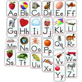 Carson Dellosa, Alphabet Photographic Shape Stickers, Multi-Colored, Pack of 156