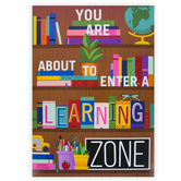 Renewing Minds, Learning Zone Motivational Poster, 13 x 19 Inches