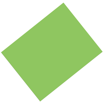 Pacon, Heavy Poster Board, 22 x 28 Inches, Light Green, 1 Piece