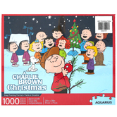 Aquarius, A Charlie Brown Christmas Jigsaw Puzzle, 1000 Pieces, 20 x 28 inches Completed
