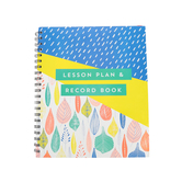 Renewing Minds, Leaves and Raindrops Lesson Plan & Record Book, Spiral, Multi-Colored, 160 Pages
