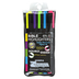 Zebrite, Double-Sided Bible Highlighters, 1 Each of 5 Fluorescent Colors