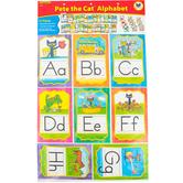 Edupress, Pete the Cat Alphabet Bulletin Board Set, Multi-colored, 37 Pieces