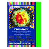 Tru-Ray® Sulphite Construction Paper, 9 x 12 inches, Festive Green, 50 Sheets