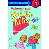 Berenstain Bears, We Like Kites, Step Into Reading, Level 1, by The Berenstains, Paperback