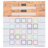 Farmhouse Lane Collection, Customizable Mini Incentive Charts, 5.25 x 6 Inches, 36 Sheets