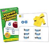 Vowels and Vowel Teams Flash Cards