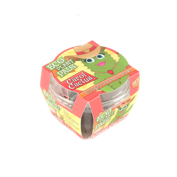 Toys By Nature, Caring Carol Cactus Eco Seed Sprouts, 3 x 3 x 2 1/4 Inches, Ages 4 and Older