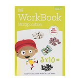 Retail Centric Marketing, Step Up Kids Multiplication Workbook, Paperback, Grades 2-3