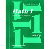 Saxon Math 1 Student's Meeting Book