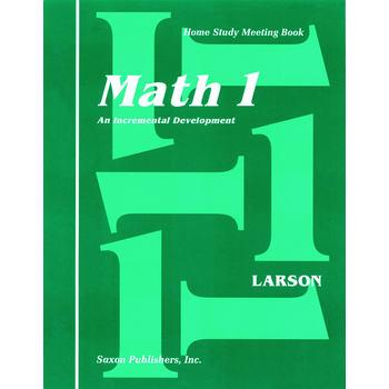 Saxon Math 1 Student's Meeting Book