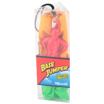 Toysmith, Base Jumper Paratrooper Deluxe, Assorted Colors, Ages 5 and up, 1 Each
