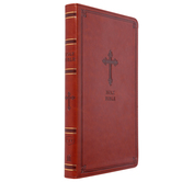 KJV Thinline Bible, Imitation Leather, Brown