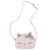Stephen Joseph, Cat Fashion Purse, Polyurethane & Polyester, Pink, 6 x 4 1/4 inches