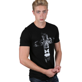 NOTW, Lion Cross, Men's Short Sleeve T-Shirt, Black, S-2XL