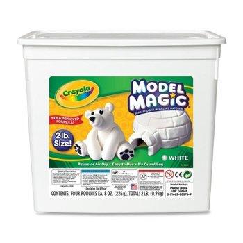 Crayola, Model Magic Modeling Compound, White, 2 Pound Tub