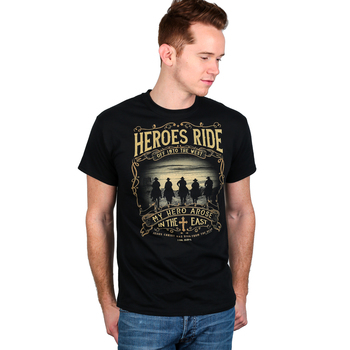 Kerusso, 1 Corinthians 15:20-22, Heroes Ride, Men's T-Shirt, Black, M-3XL