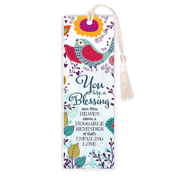 James Lawrence, You Are a Blessing Bookmark with Tassel, 2 x 6 inches