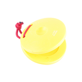 Westco, Plastic Finger Castanet, Yellow, 2.5 Inches, 1 Piece, Ages 18 months - 5 years