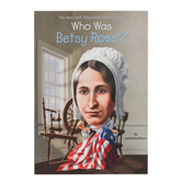 Who Was Betsy Ross by James Buckley Jr, John OBrien, and Nancy Harrison, Paperback