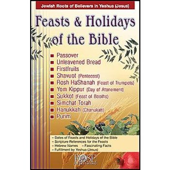 Feasts & Holidays Pamphlet