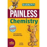 Barron's, Painless Chemistry 2nd Edition, by Loris Chen, Paperback