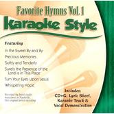 Favorite Hymns Volume 1, Karaoke Style, As Made Popular by Various Artists, CD+G