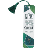 Soul Anchor, Ephesians 4:32 Lapel Pin with Bookmark, Paper and Metal, Green, 6 inches