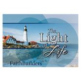 Christian Art Gifts, Light of Life Faithbuilders Pocket Cards, 3 1/8 x 2 inches, 20 cards