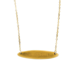 Holy Land Gifts, Jeremiah 29:11 Bar Necklace, Gold, 18 inch Chain