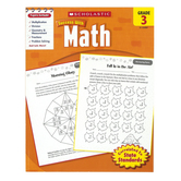 Scholastic, Success With Math Activity Book, 64-Pages, Paperback, Grade 3
