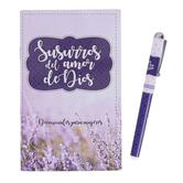 CTA, Inc., Susurros Del Amor De Dios Spanish Pen & Devotional Book, 4 1/4 x 6 3/4 inches