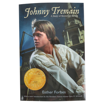 Johnny Tremain, by Esther Forbes, Paperback, 320 Pages, Grades 5-8